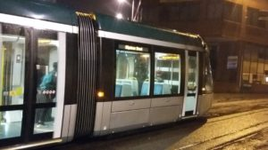 Tram in Nottingham